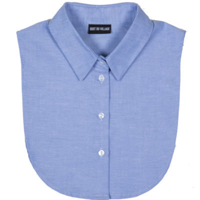 classic collar blue idiot du village